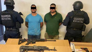 Photo of Agarran a 'el Basuras' en Tecate con armas de grueso calibre