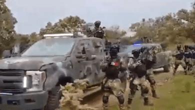Photo of VIDEO: Exhiben armas y brazo armado supuestamente del Mencho