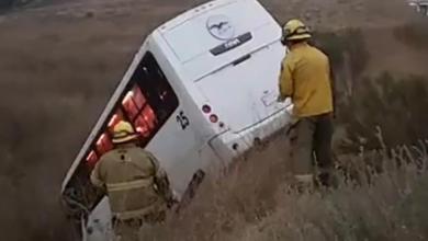 muere-una-persona-en-accidente-de-camion-de-personal
