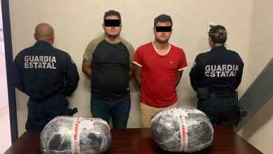 Photo of Detienen a sinaloenses con varios kilos de droga