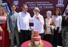 Photo of Ayuntamiento celebra con acto cívico el Aniversario 131 de Tijuana