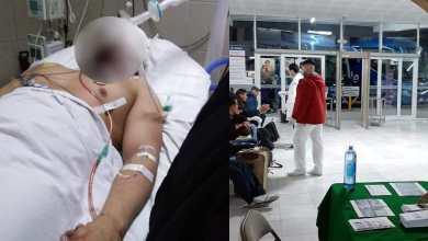 Enfermero-sufre-severos-daños-tras-recibir-pedrada-en-Vía-Rápida