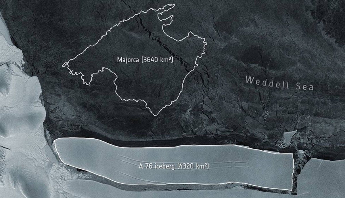 Se-desprende-el-iceberg-más-grande-del-mundo