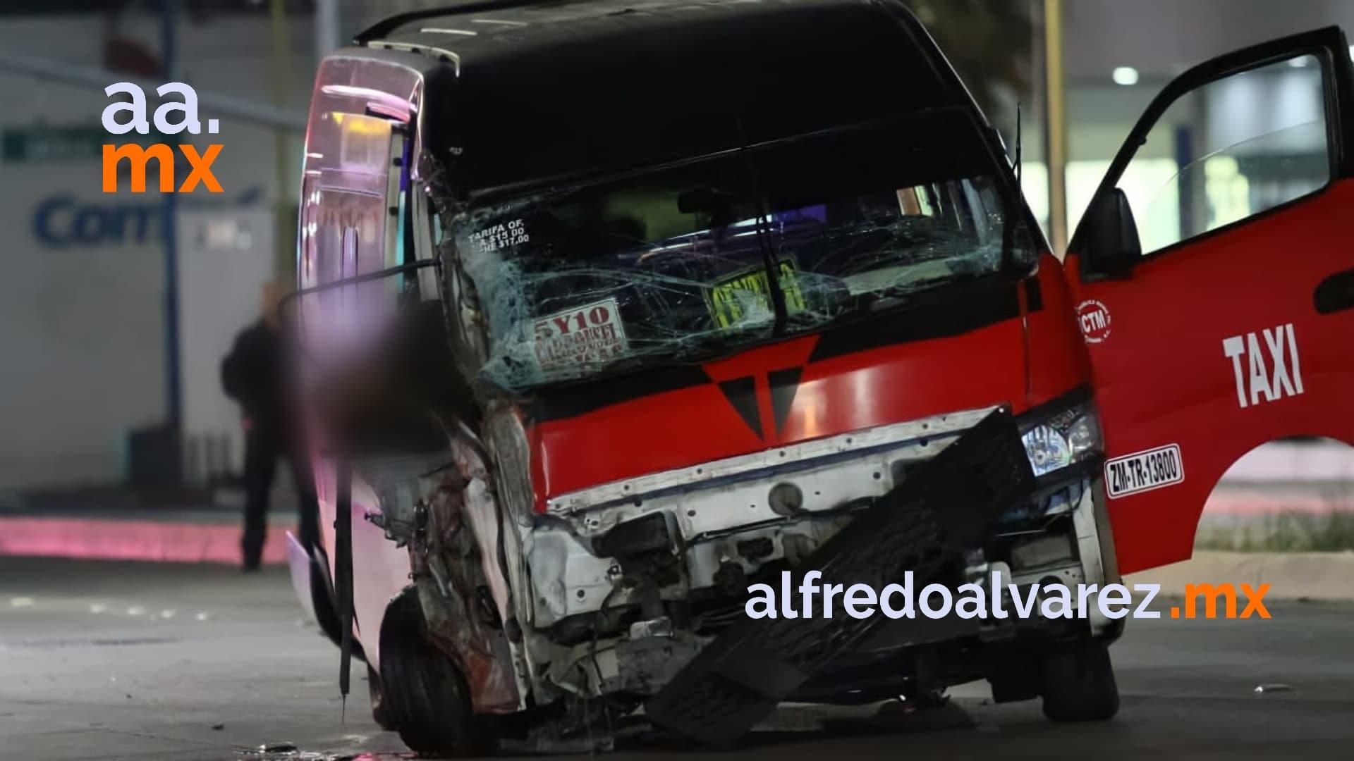 pasajero-muere-tras-choque-de-taxi-conductor-quiso-huir