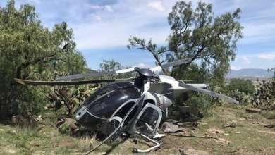 Se-desploma-helicóptero-de-la-Fuerza-Aérea-Mexicana