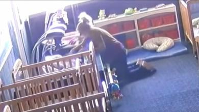 VIDEO-Maestra-golpea-y-deja-caer-a-niño-le-causa-fracturas