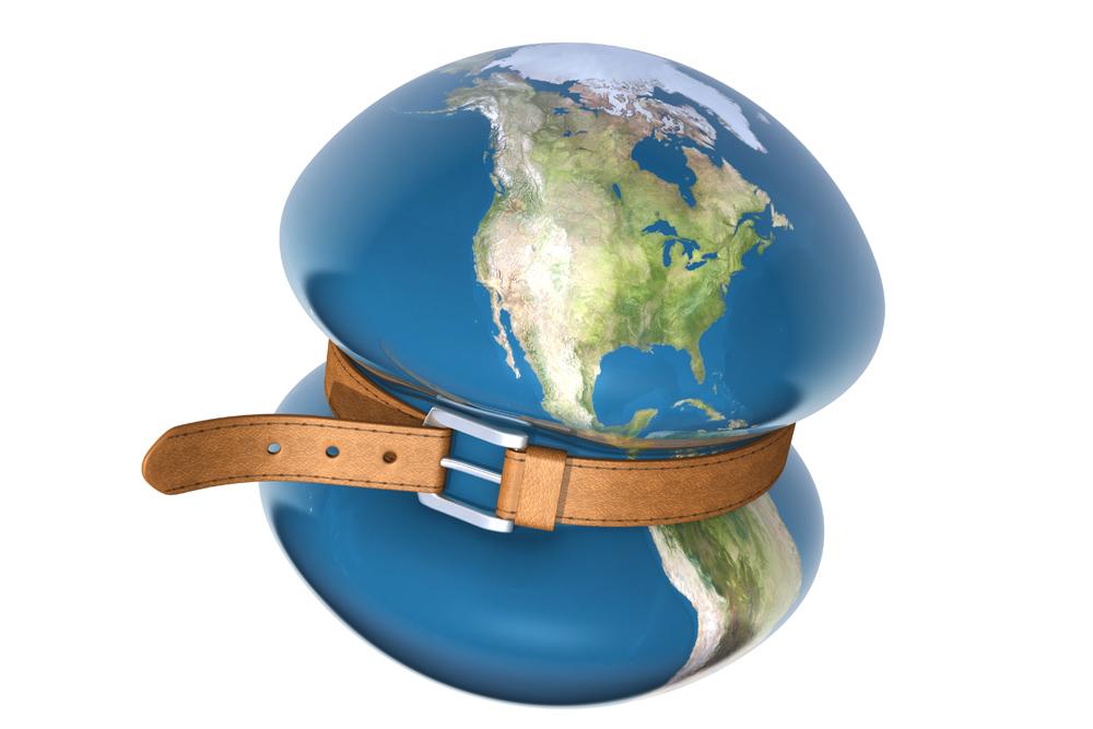 Crisis global o conflicto mundial.