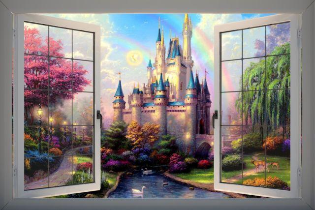 La fantasía una realidad adecuada al paisaje desolado.