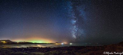 Milky Way over the Atlantic Ocean