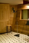 Vocal Booth at Al Fresco's Place Recording Studio