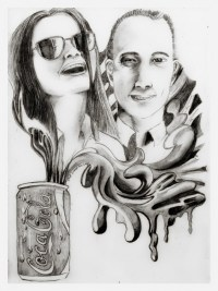 """""""Mr and Mrs Perfect"""" by Alf Sukatmo. Pencil on paper."""