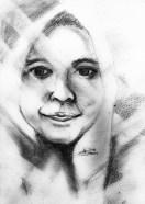"""20 Faces - 4"" Pencil on paper ©Alf Sukatmo 2016"
