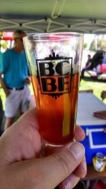 Beerfest! (In the glass: Old School Hippocrates English-style IPA.)