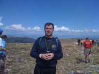 At 12378 feet, right as the pack was leaving. I may have been DFL, but I did finish the 11+-mile trail.