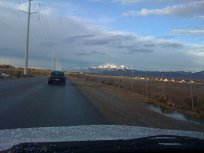 Auto-hashing to the second on-in...check out the snow-capped mountains up ahead