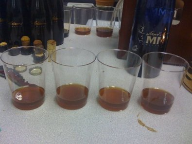 The four Utopias (left to right: '02, '03, '05, and '07)