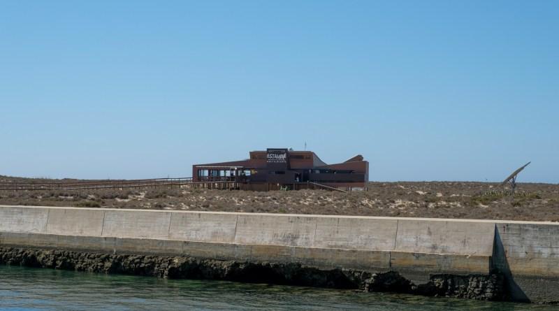 Incêndio no restaurante Estaminé na Ilha Deserta no Algarve