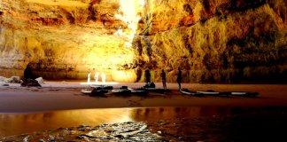 coastal cave algarve