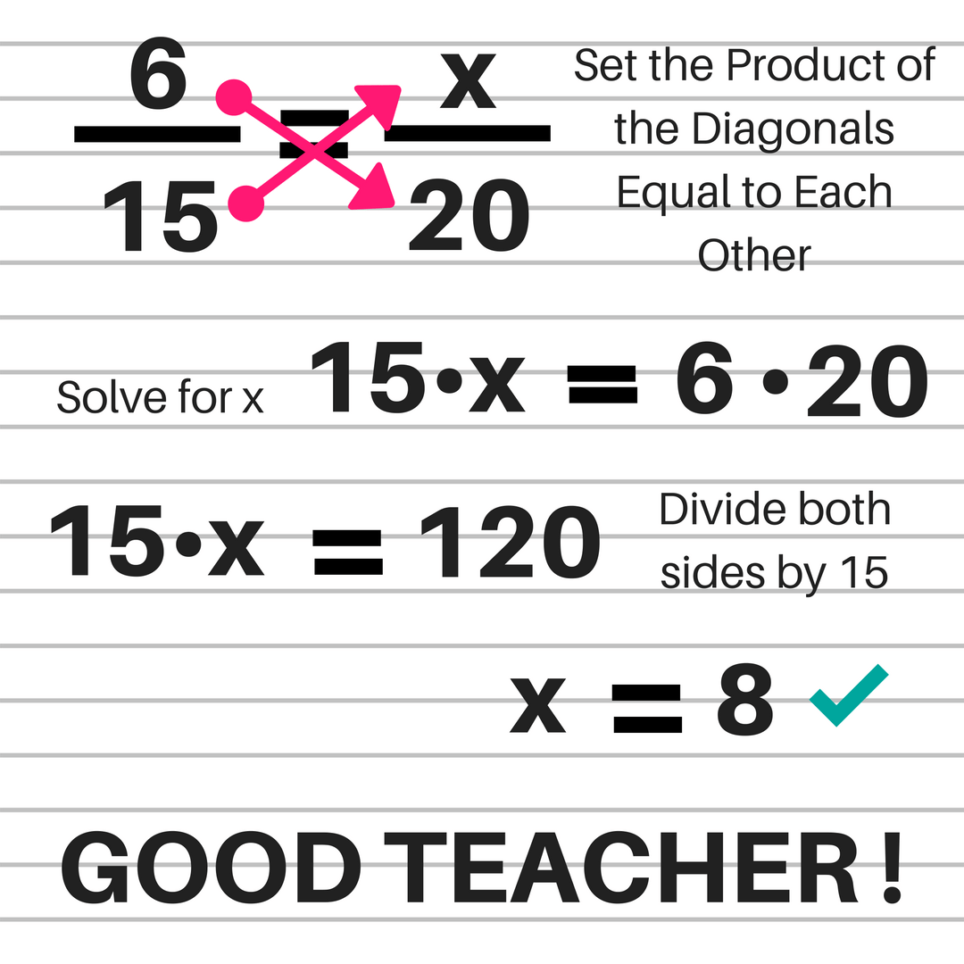 Solving Proportions worksheet with answers