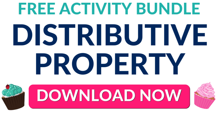 FREE Distributive Property Activity Bundle