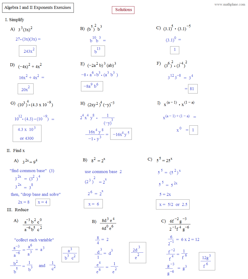 Inverse Functions Worksheet Algebra 2
