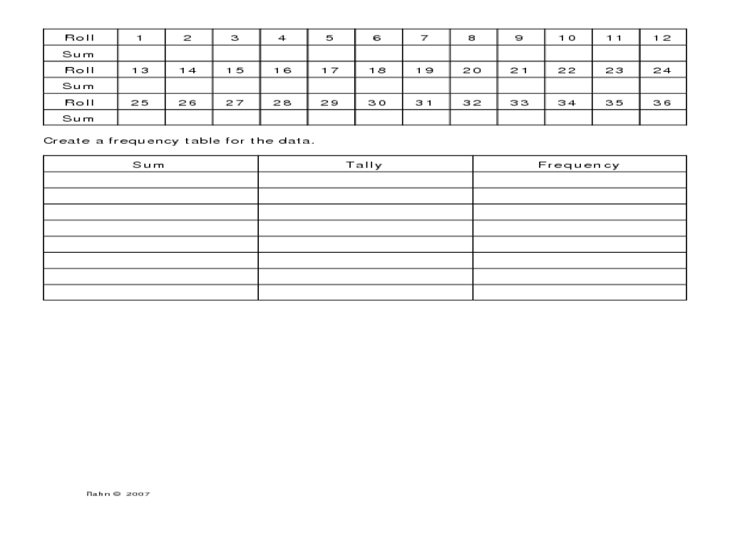 Algebra 1 Two Way Frequency Tables Worksheet Answer Key