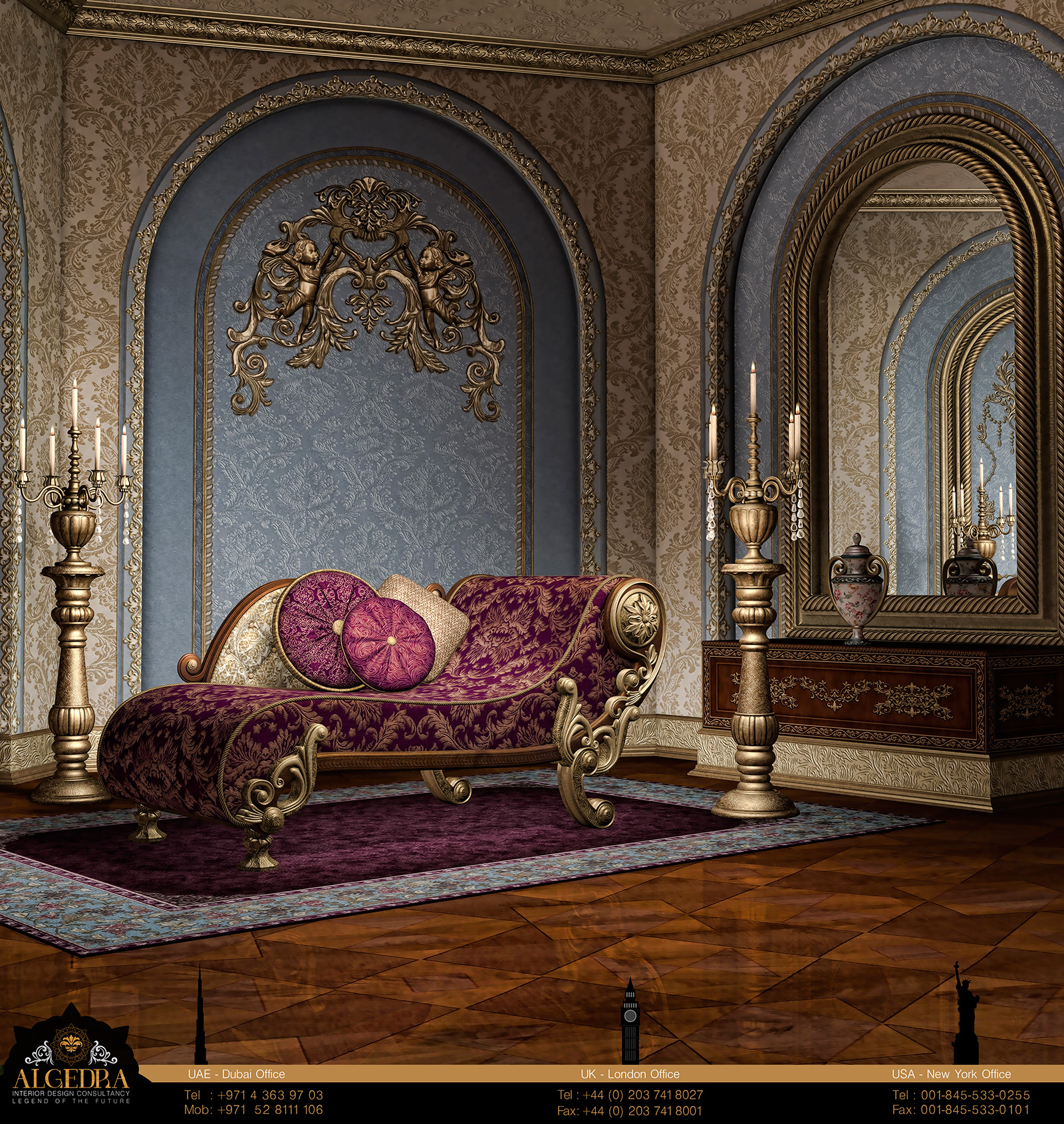 Baroque Style Interior Design Algedra