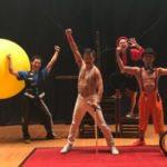 南会津こどもまつりでの大道芸イベント 子供達大盛り上がり♪ハッピーメリーサーカスの新チーム誕生か?