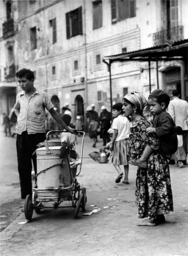 Marché Randon, bas de la Kasbah d'Alger, 1960