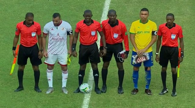 LDC – CAF : CRB – Sundowns (1-5)