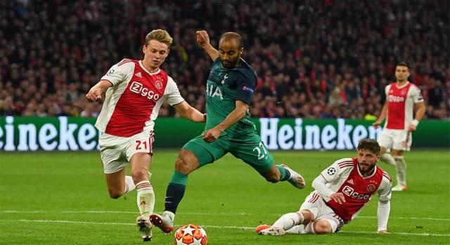 Ligue des champions : Ajax 2 – Tottenham 3
