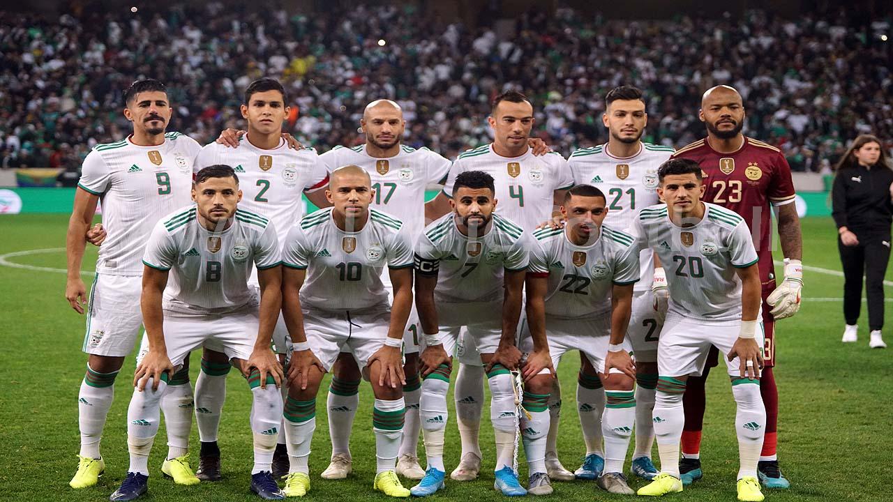 algérie equipe