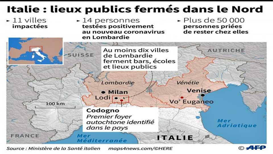 Coronavirus – Italie : La pandémie a fait 10.779 morts, près de 100.000 contaminés