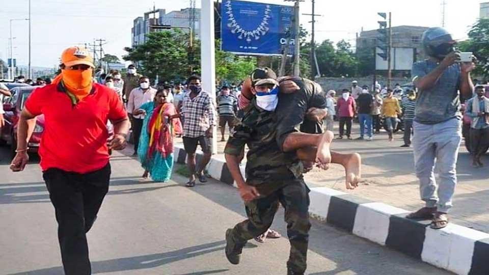 Inde : Fuite de gaz meurtrière dans une usine