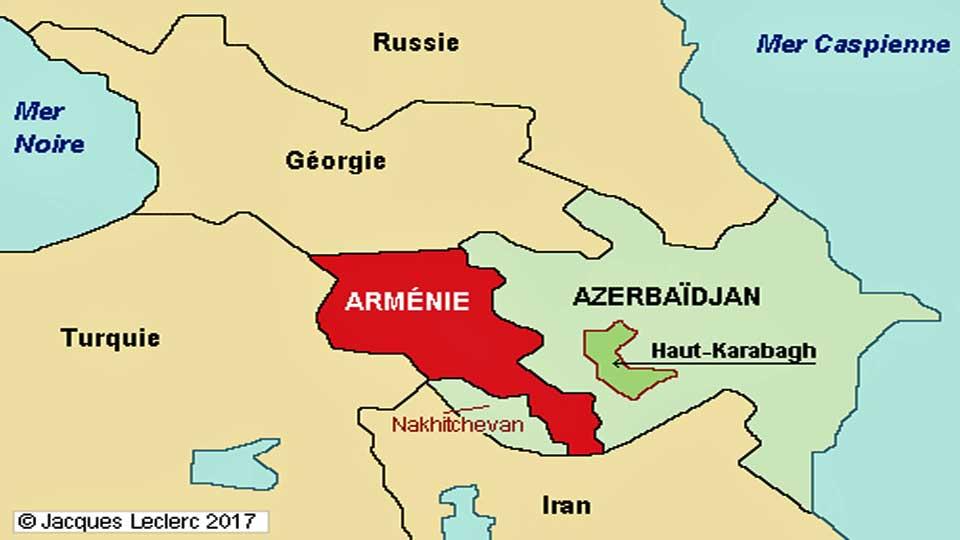 Arménie et Azerbaïdjan s'accordent sur une trêve à l'initiative des Etats Unis