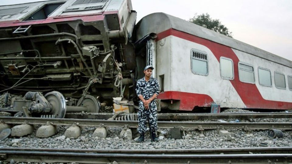 accident train egypte