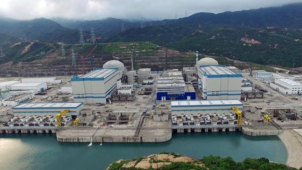 Centrale nucléaire chine