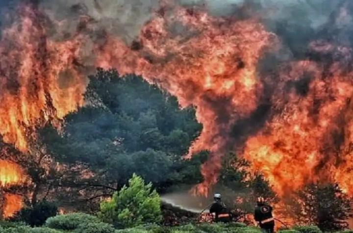 Incendies algérie