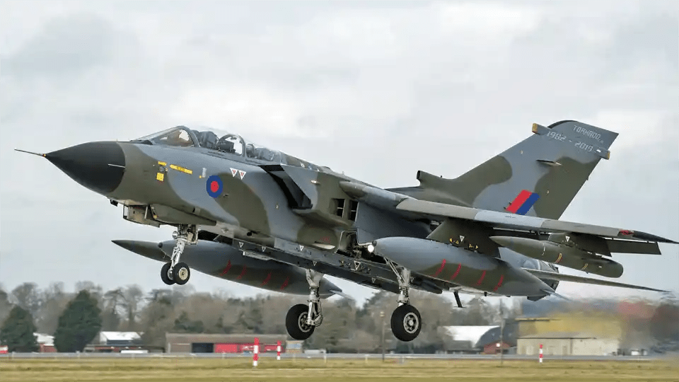 Tornado royal aiforce