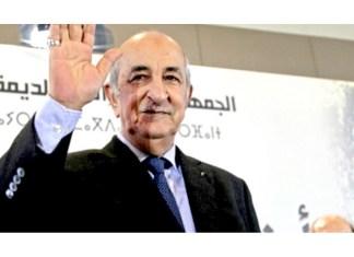 Le Président Tebboune
