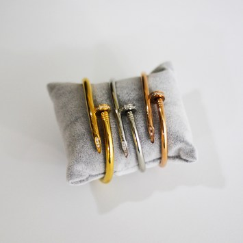 Bracelet cartier CLOU en acier