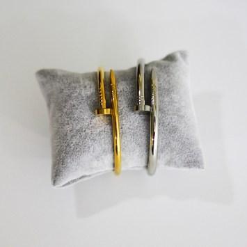 Bracelet en acier Cartier CLOU