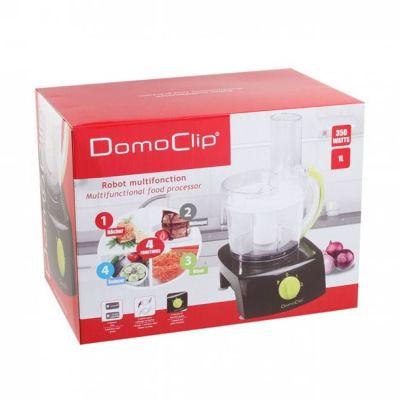 Robot multifonction Domo Clip noir