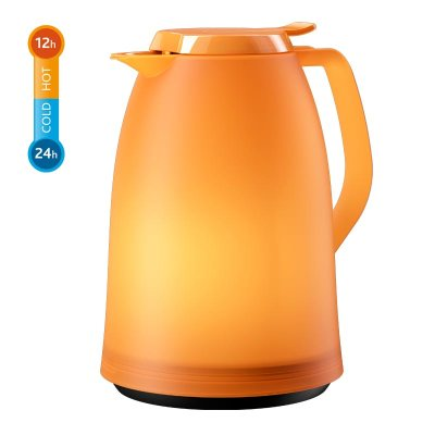 Thermos Orange translucide Mambo de Emsa Germany