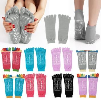Chaussettes Yoga 5 Orteils Massage anti Derapant ADE-176
