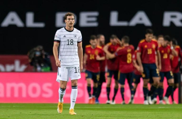 L'ailier de Manchester City, Ferran Torres, a réussi son premier triplé en carrière alors que l'Espagne infligeait la plus lourde défaite en compétition à l'Allemagne et rejoignait la France dans les finales de la Ligue des Nations à quatre équipes.