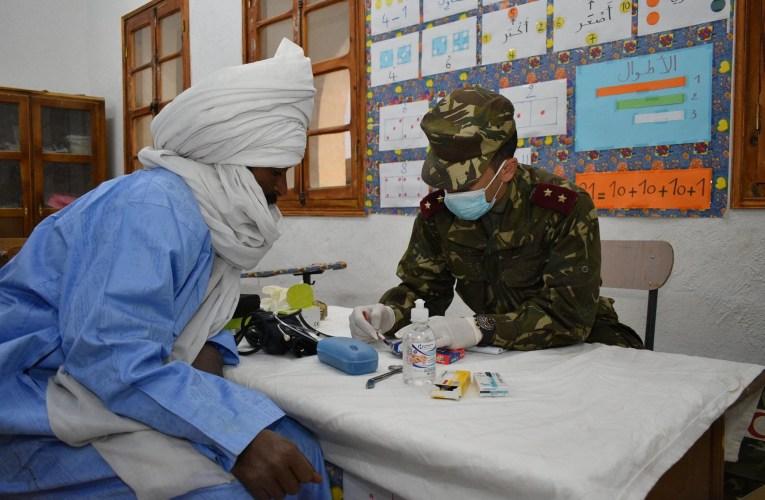 الجزائر- حملة صحية واسعة للتكفل بسكان مناطق الظل والمناطق النائية