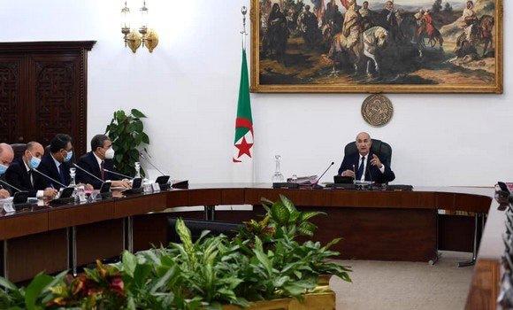 الجزائر- بيان اجتماع مجلس الوزراء