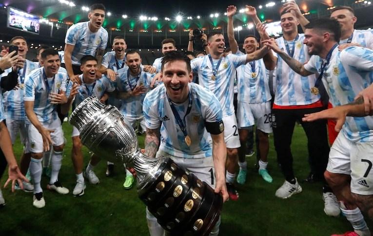 Messi remporte son premier titre majeur avec l'Argentine