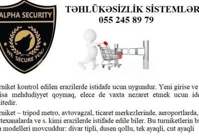 turniket 055 245 89 79 Alpha security system